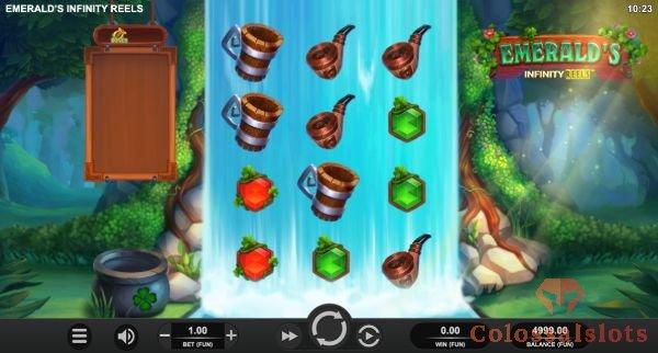 emerald's infinity reels™ basegame
