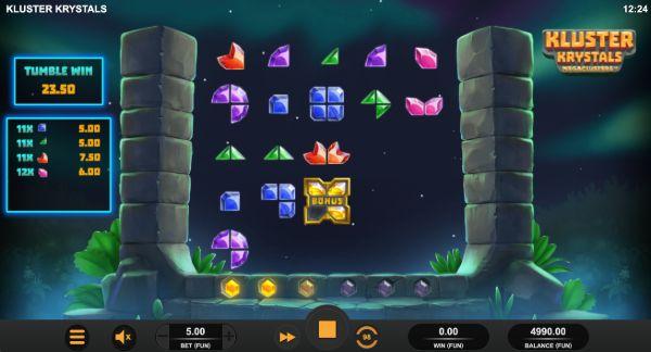 kluster krystals megaclusters™ free spins