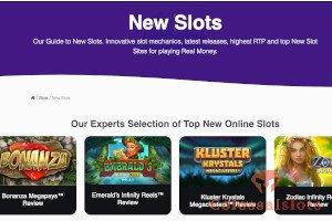 have a look at new slots