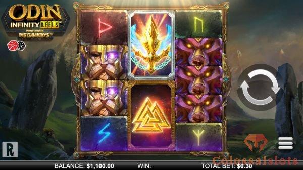 odin infinity reels megaways™ basegame