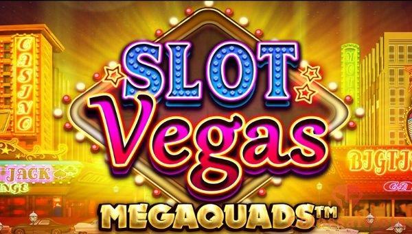 slot vegas megaquads™ logo