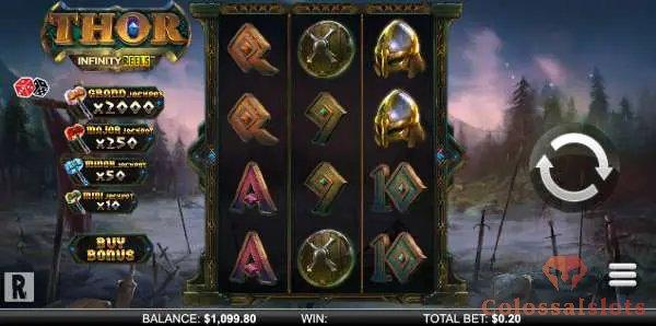 thor infinity reels™ bonus buy slot