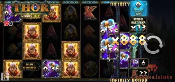 thor infinity reels™ bomus game