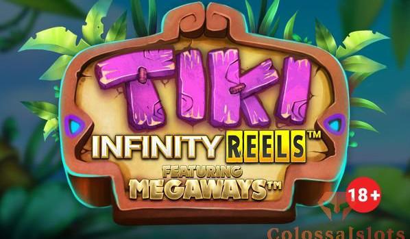 tiki infinity reels megaways™ logo