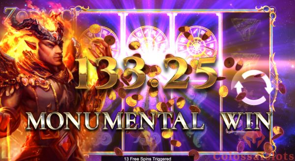 zodiac infinity reels™ big win