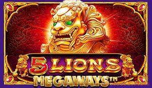 5 lions megaways™ logo