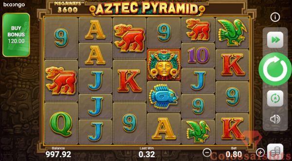 aztec pyramid megaways™