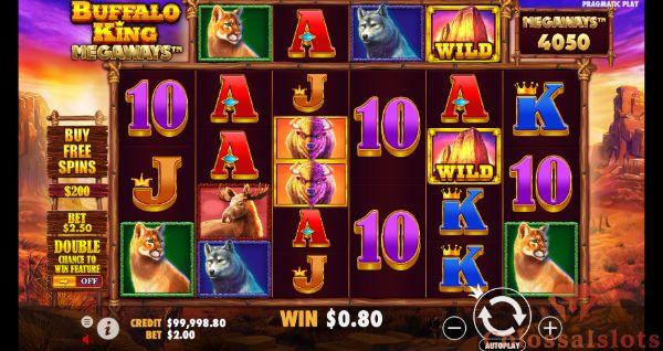 buffalo King megaways™ basegame