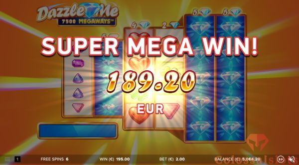 dizzle me megaways™ big win