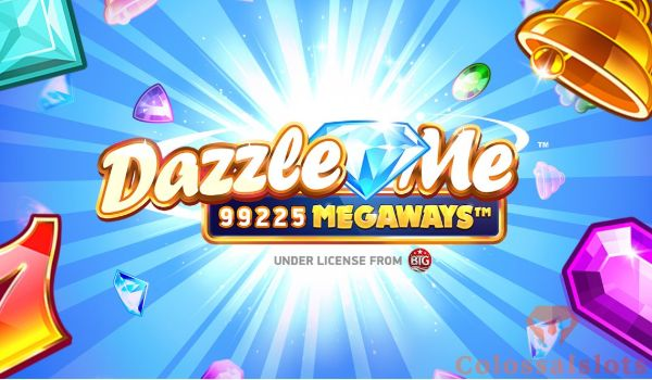 dazzle me megaways™ logo