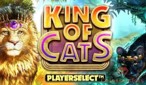 king of cats megaways™ logo