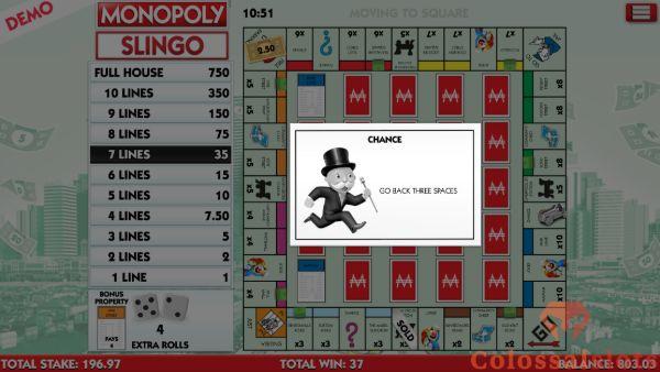 Monopoly Slingo community chest