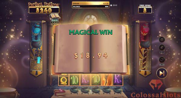magical win