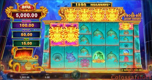 Ancient Fortunes: Poseidon™ Megaways™ basegame