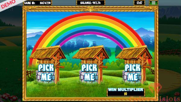 Slingo Rainbow Riches wishing well