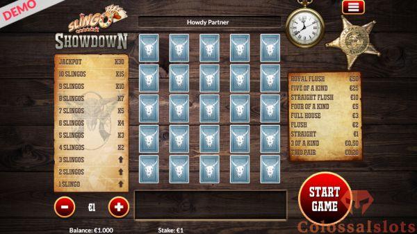 Slingo Showdown basegame