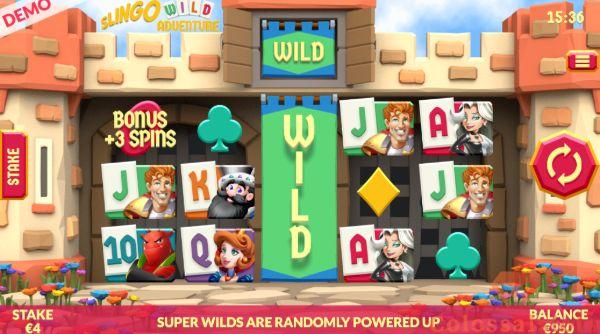 Slingo Wild Adventure wild