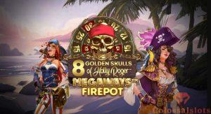 8 golden skulls featured