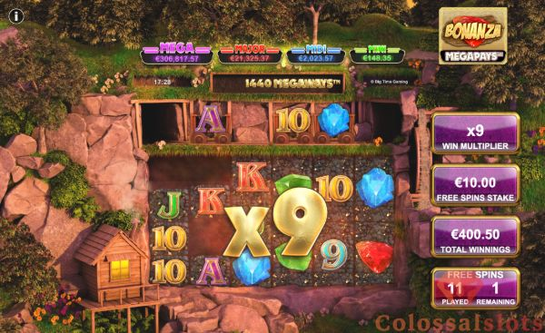 free spins with multipliers