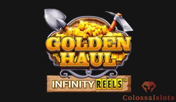 golden haul infinity reels™ logo