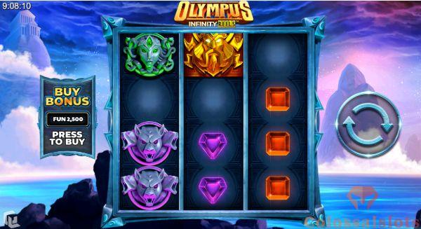 olympus infinity reels™ basegame