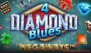 4 diamond blues megaways™ logo