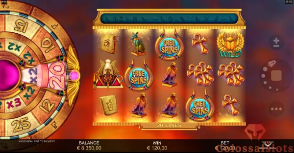 Ascension: Rise to Riches™ free spins