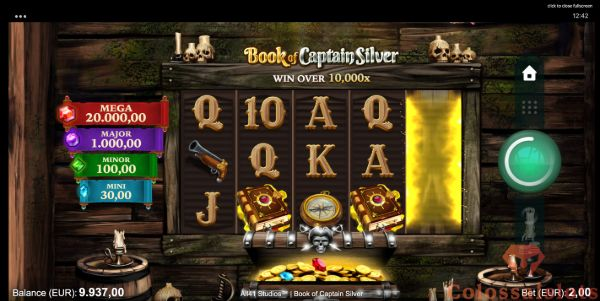 book of captain silver scatter