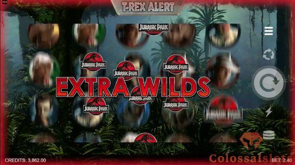 jurassic park remastered t-rex alert