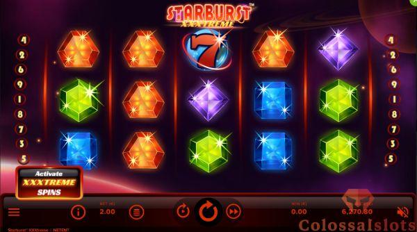 starburst xxxtreme basegame