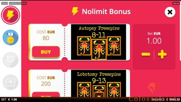 bonus buy feature