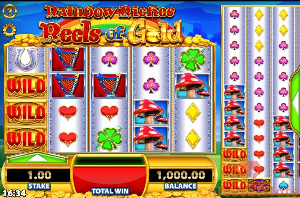 rainbow riches colossal reels basegame
