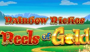 rainbow riches reels of gold logo