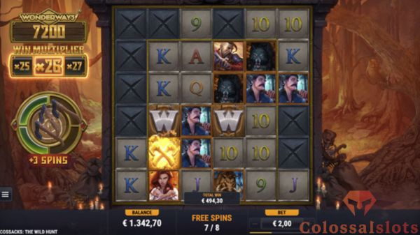 cossacks the wild hunt free spins