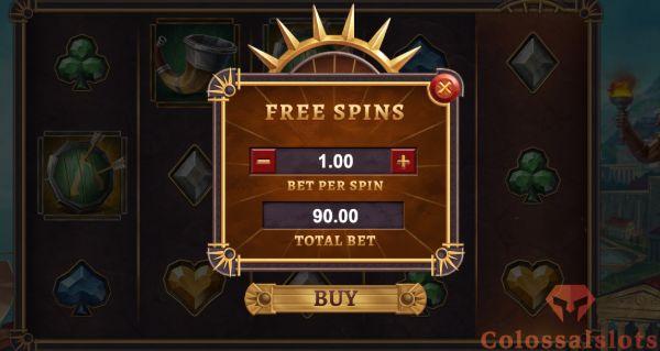 helio's fury bonus buy feature