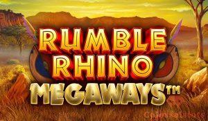 Rumble Rhino Megaways featured