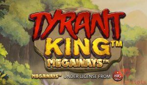 tyrant king megaways™ logo