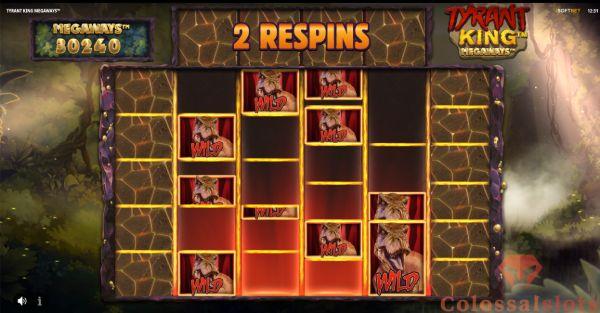 tyrant king megaways™ respins