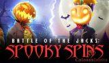 battle of the jacks: spooky spins logo